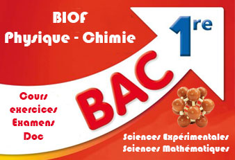 1ère Bac BIOF Physique Chimie